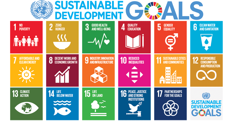 17 UN goals - sustainable development