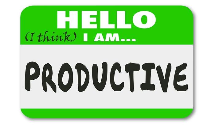 How do you measure productivity