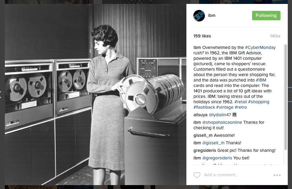 Company History - 10 tips for b2b Instagram success