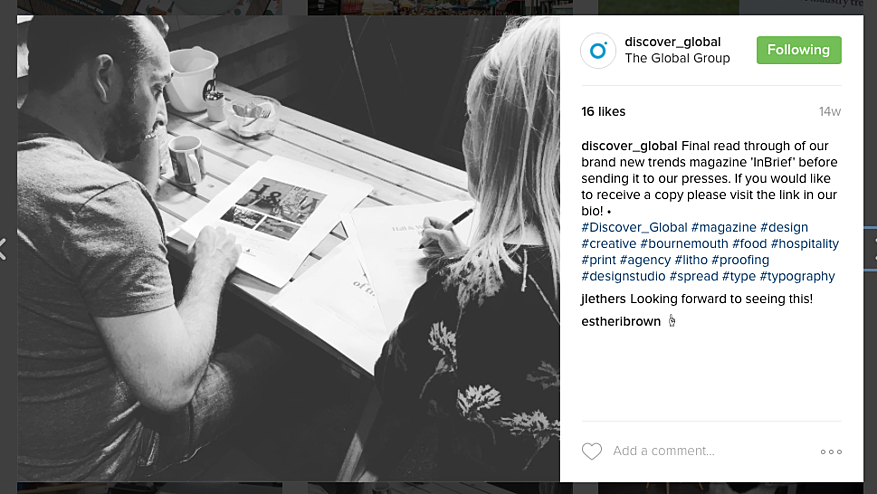 Culture - 10 tips for b2b Instagram success