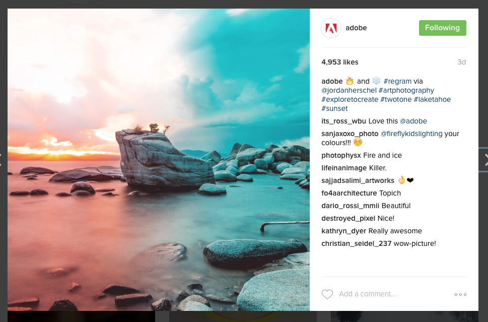 customers - 10 tips for b2b Instagram success