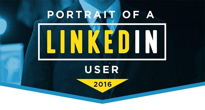 Portrait of a LinkedIn User 2016