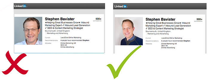 optimise your linkedin profile photo