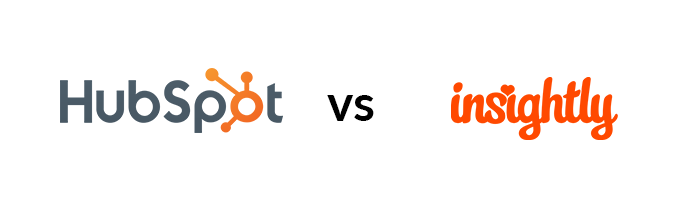 hubspot crm vs insightly crm