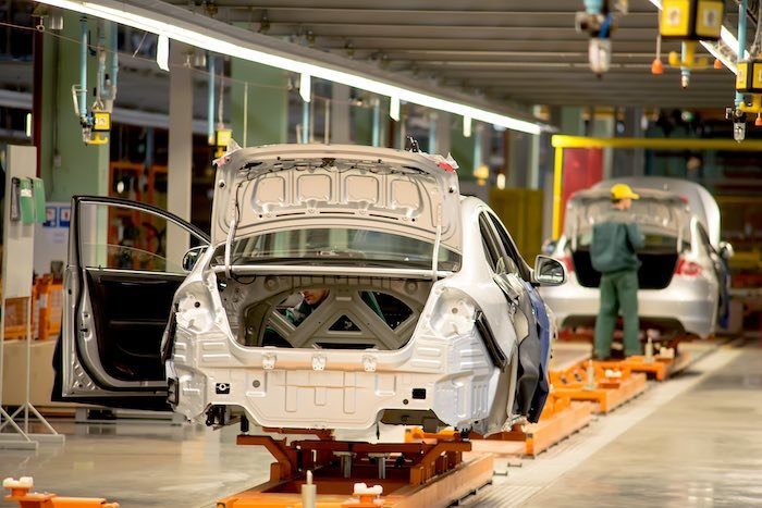 UK car manufacturing industry events 2019