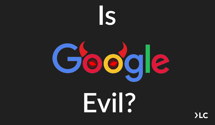 is google evil blog image